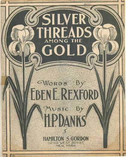 Sheet Music - Silver threads among the gold