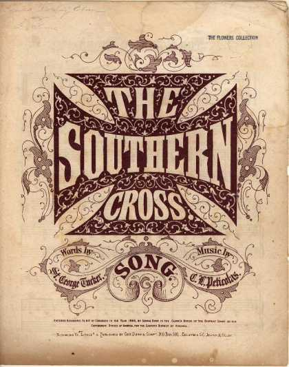Sheet Music - The Southern cross