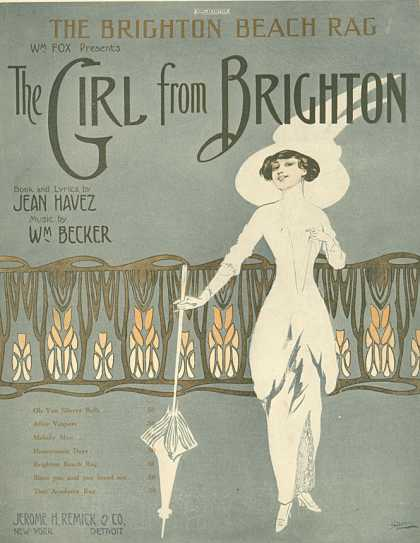 Sheet Music - The Brighton Beach rag