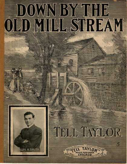 Sheet Music - Down by the old mill stream