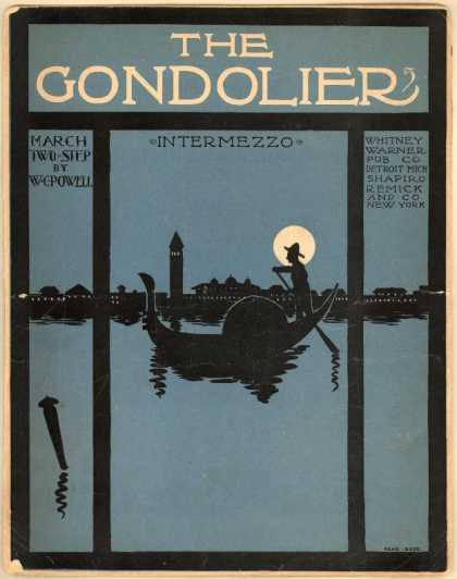 Sheet Music - The gondolier
