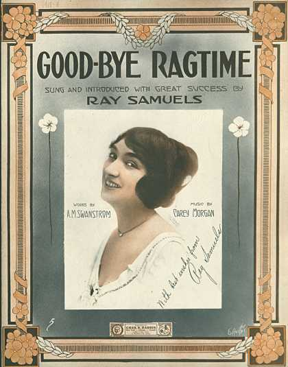 Sheet Music - Good-bye ragtime