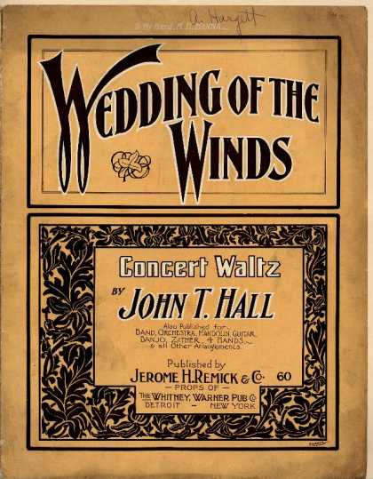 Sheet Music - Wedding of the winds
