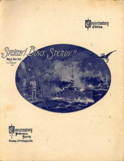 Sheet Music - Steady! boys, steady!!; March two-step