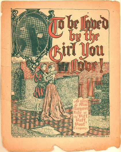 Sheet Music - To be loved by the girl you love