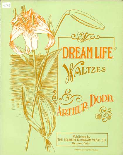 Sheet Music - Dream life