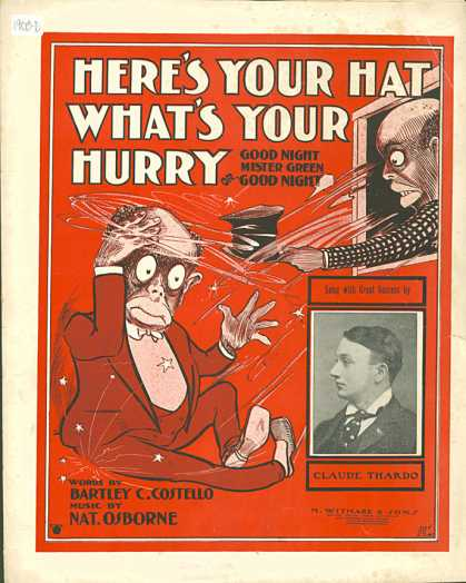 Sheet Music - Here's your hat