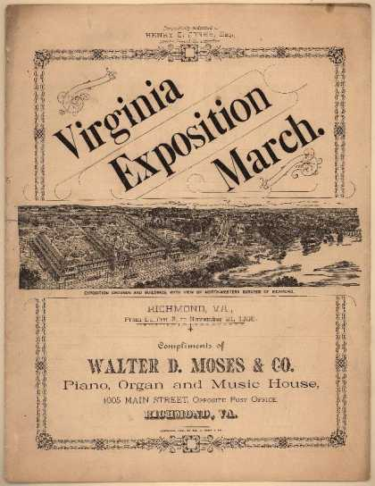 Sheet Music - Virginia Exposition march