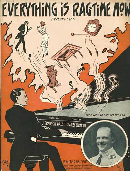 Sheet Music - Everything is ragtime now