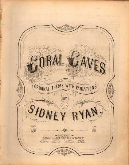 Sheet Music - Coral caves