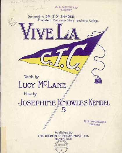 Sheet Music - Vive la C.T.C.