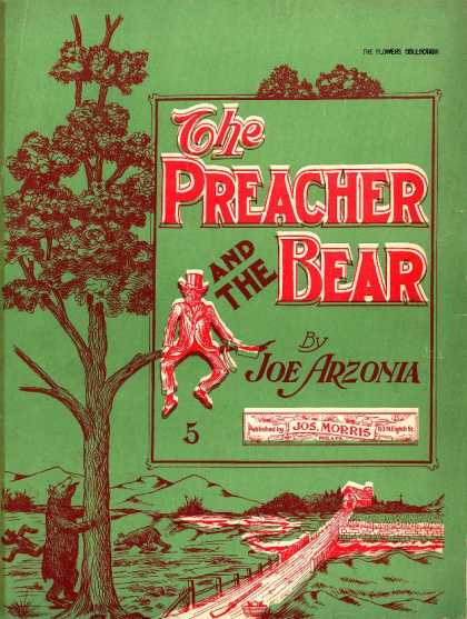 Sheet Music - The preacher and the bear