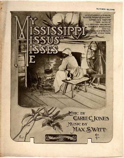 Sheet Music - My Mississippi missus misses me