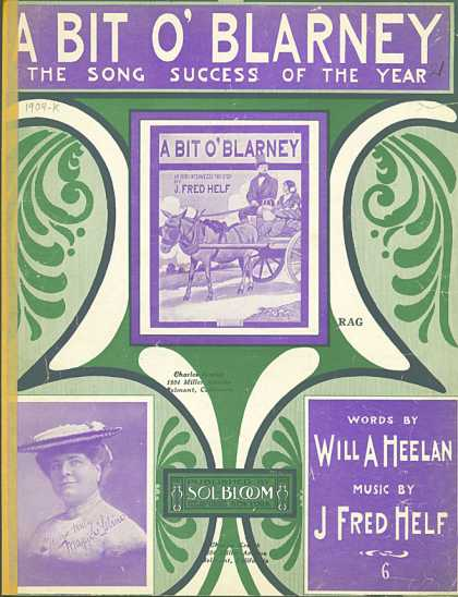 Sheet Music - A bit o' blarney
