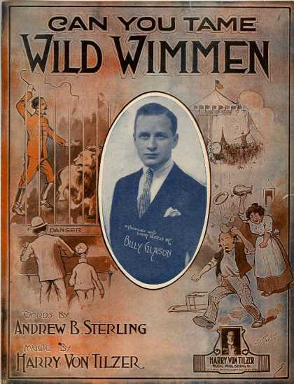Sheet Music - Can you tame wild wimmen