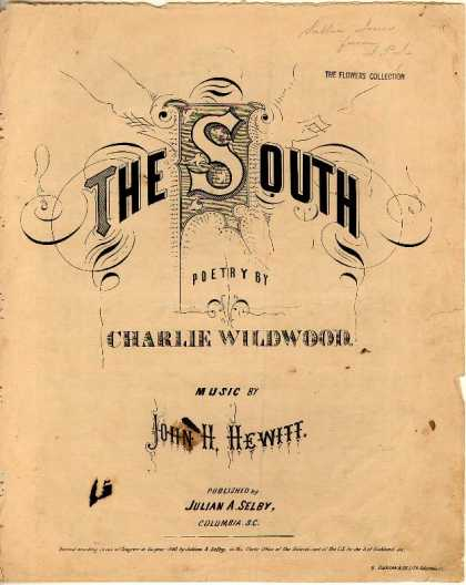 Sheet Music - The South