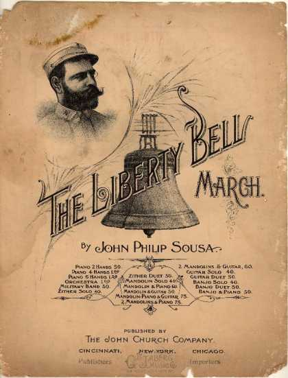 Sheet Music - The liberty bell march