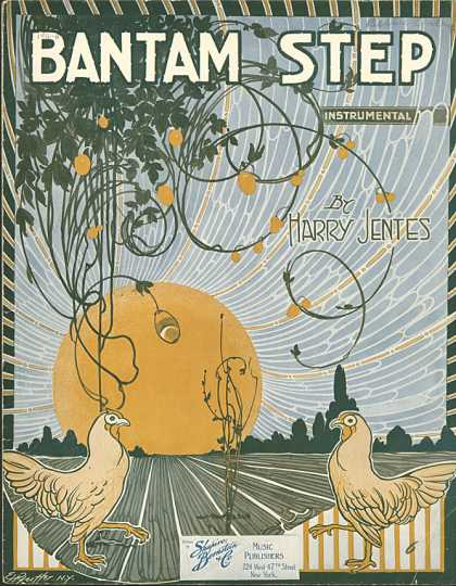 Sheet Music - Bantam step