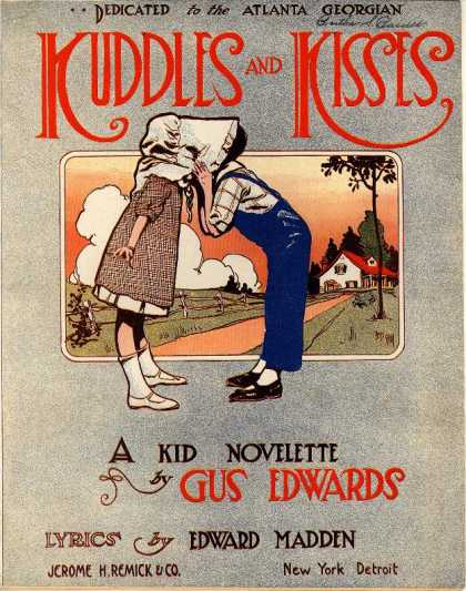 Sheet Music - Kuddles and kisses