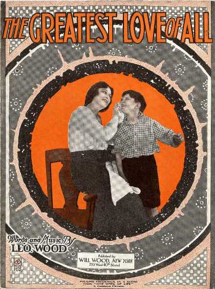 Sheet Music - Greatest love of all