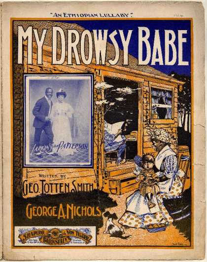 Sheet Music - My drowsky babe; An Ethiopian lullaby