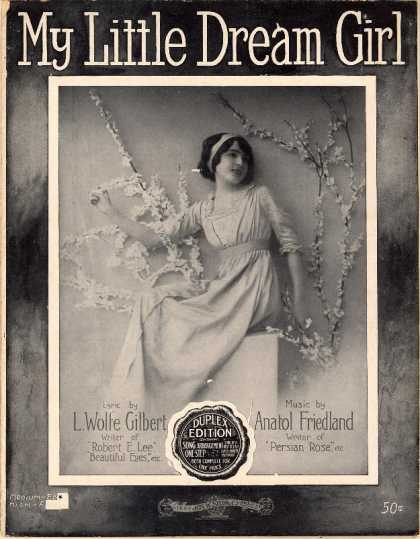 Sheet Music - My little dream girl