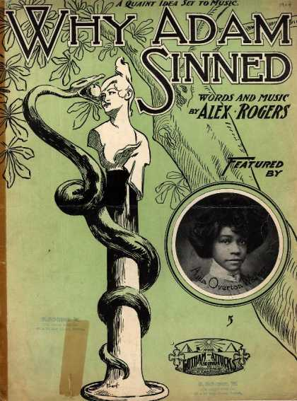 Sheet Music - Why Adam sinned