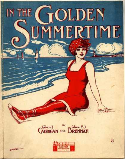 Sheet Music - In the golden summertime