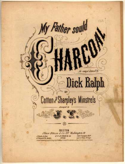 Sheet Music - My father sould charcoal
