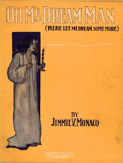 Sheet Music - Oh Mr. Dream Man; Please let me dream some more