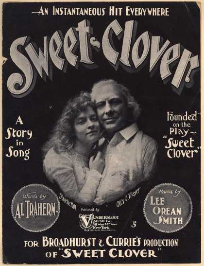 Sheet Music - Sweet clover