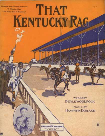 Sheet Music - That Kentucky rag; A winning miss; The sunny side of Broadway