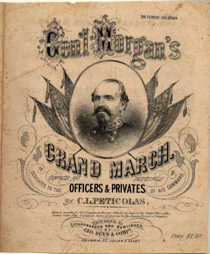 Sheet Music - Gen'l Morgan's grand march