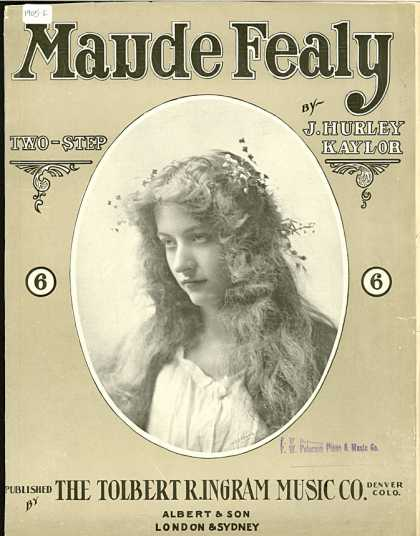 Sheet Music - Maude Fealy