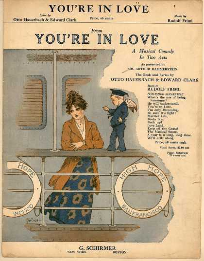 Sheet Music - You're in love