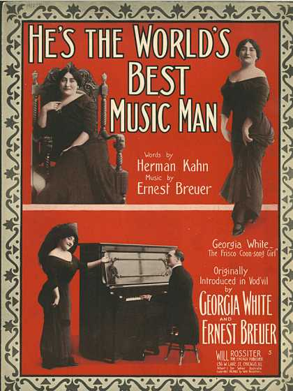 Sheet Music - He's the world's best music man