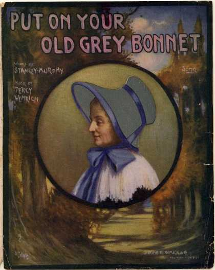 Sheet Music - Put on your old grey bonnet
