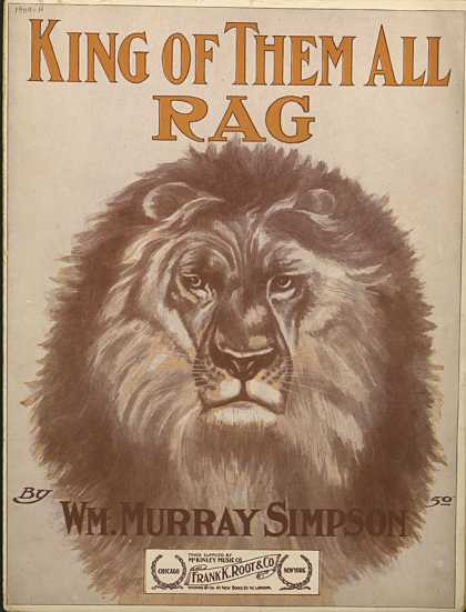 Sheet Music - King of them all rag
