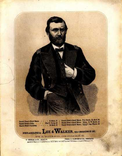Sheet Music - General Grant's grand march