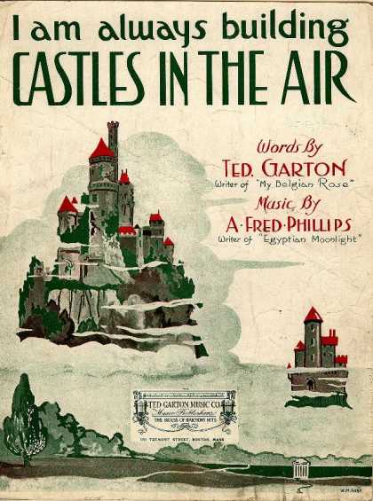 Sheet Music - I am always building castles in the air