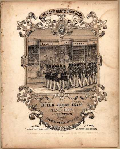 Sheet Music - St. Louis Greys quick step