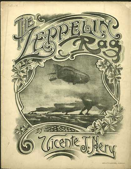 Sheet Music - Zeppelin rag
