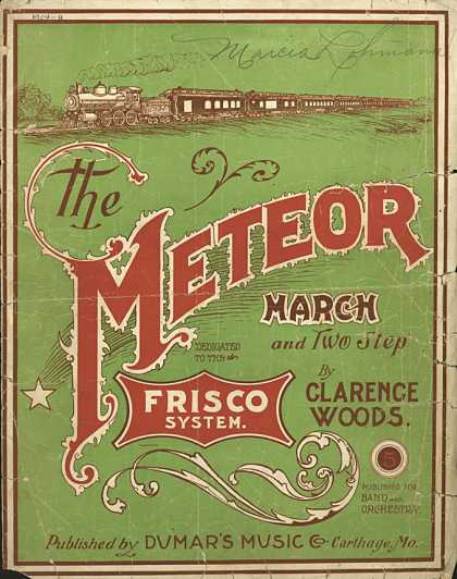 Sheet Music - The meteor