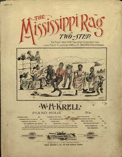 Sheet Music - The Mississippi rag