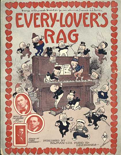 Sheet Music - Every-lover's rag