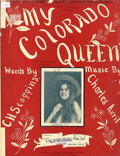 Sheet Music - My Colorado queen