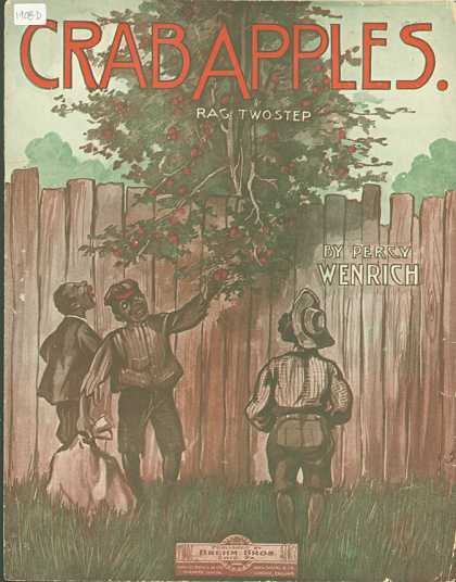 Sheet Music - Crab apples