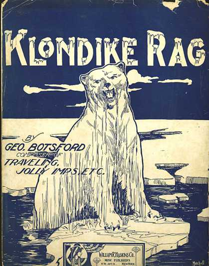 Sheet Music - Klondike rag