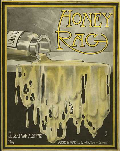 Sheet Music - Honey rag