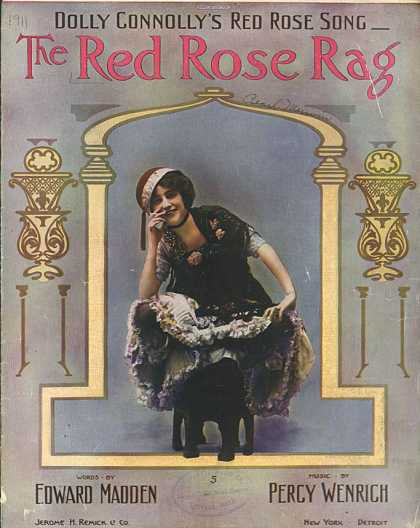 Sheet Music - The red rose rag